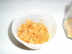 Pumpkin cornflakes